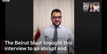 Beirut Explosion: Moment Blast Hit BBC Bureau