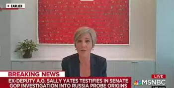 Trump Toadies On The Senate Judiciary Committee Were No Match For Sally Yates