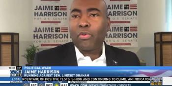Jaime Harrison: 'I Think Lindsey Graham Is Scared'