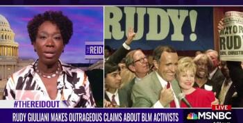 Joy Reid Takes On Rudy Giuliani After Disgusting Remarks About Black Lives Matter