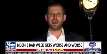 Eric Trump: 'The Polls Are Looking Great'