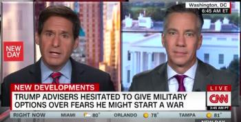Sciutto: Advisers Wouldn't Give Trump Military Options Because They Didn't Trust Him