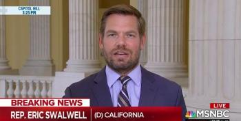 Rep. Eric Swalwell Drags Sens Graham And Johnson For Attacking Biden On Russia's Cue