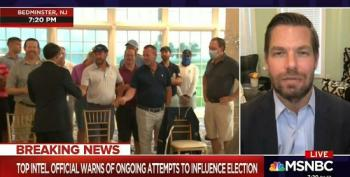 Trump Uses Members Of His New Jersey Golf Club As Human Props For Press Conference