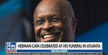 Fox Ignores Herman Cain's Attendance At MAGA Rally When Reporting On His Funeral