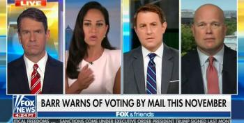 Fox And Friends Ignores USPS Friday Night Massacre To Concern Troll About Voting By Mail