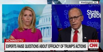 A Confused Larry Kudlow Has Trouble Explaining Trump's Proposal On Unemployment Benefits