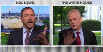 Chuck Todd Hammers Peter Navarro For Trump Golfing Instead Of Negotiating All Weekend