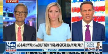 Fox And Friends Has Great News: Antifa Pays By Direct Deposit!