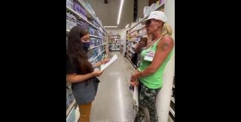 WATCH: Women Posing As Federal Workers Harass Grocery Store Employee