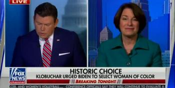 Sen. Amy Klobuchar Defends VP Pick Sen. Kamala Harris On Fox News