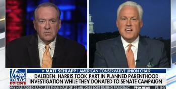 Religious Hypocrite Huckabee Declares 'People Of Faith' Can't Support Biden-Harris