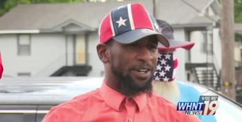 Black Man Fights For Confederate Symbols: 'I'm Not Going To Take My Flag Down'