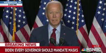 Joe Biden Calls For A Three-Month National Mask-Wearing Mandate After COVID-19 Briefing