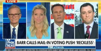 Fox Continues To Ignore Trump's Sabotage Of The Post Office