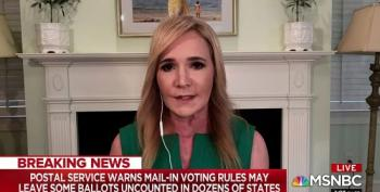 AB Stoddard Whacks 'Boneheaded' Republicans For Refusing To Take Trump On Over USPS Destruction