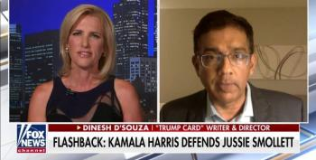 Dinesh D'Souza: Kamala Harris Not African-American Because She's 'Not From The Legacy' Of Slave Owners