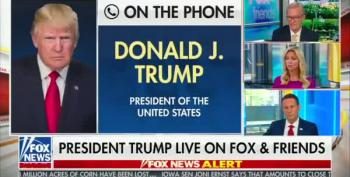 Trump's 54-Minute Call To Fox And Friends Was As Bad As You Can Imagine