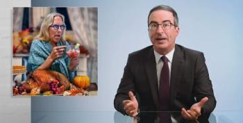 John Oliver Unpacks This Week's News: Birtherism And QAnon Conspiracy Theories