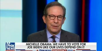 Chris Wallace: Michelle Obama 'Flayed, Sliced And Diced' Trump