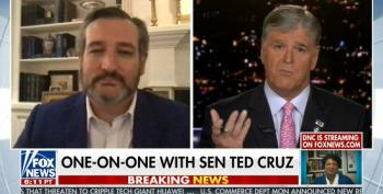 Sean Hannity And Ted Cruz Fearmonger Over Biden Turning U.S. Into 'Socialist Hellhole'