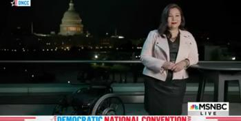 Sen. Tammy Duckworth Nailed Her Target, Labeling Trump 'Coward In Chief'