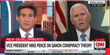Pence Denies Trump Embraced QAnon, Refuses To Denounce The Cult