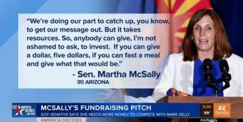 Martha McSally Asks Her Supporters To 'Fast A Meal' So That They Can Donate