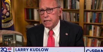 Larry Kudlow Talks About Covid Pandemic In The Past Tense At RNC