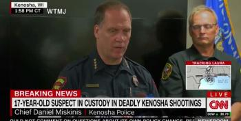 Kenosha Police Chief Blames Protesters For Getting Shot Because They Broke Curfew