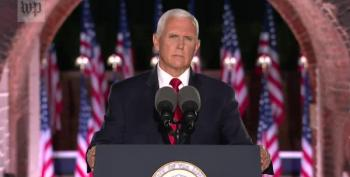 Mike Pence On Trump: Believe Me Or Your Lying Eyes And Ears!