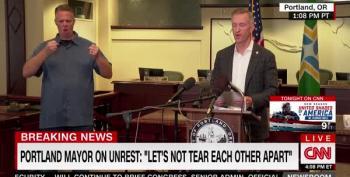 Portland Mayor Puts Blame For Violence Squarely On Trump