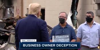 Kenosha Business Owner Declines Trump Photo-op, So Former Owner Replaces Him