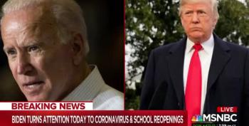 Biden: Safe School Reopenings A 'National Emergency' Due To Trump's 'Failures'