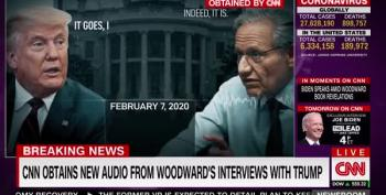 Lordy, There Are Tapes! Bob Woodward's Got Trump Admitting To Lying To Public About COVID-19 And More