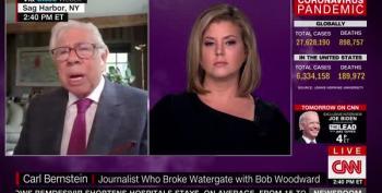 Carl Bernstein: Woodward Has 'Smoking Gun' Of Trump's 'Homicidal Negligence'