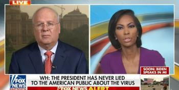 Karl Rove Excuses Trump's Coronavirus Lies: 'We Expect Perfection From People In Places Where Perfection Is Not Possible'