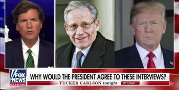 Tucker Carlson Rages At Lindsay Graham For 'Allowing' Trump's Damning Bob Woodward Interviews