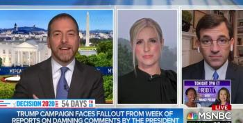 Chuck Todd Destroys Trump's Excuse For COVID Lies: 'Panic Is His Go-To Move'