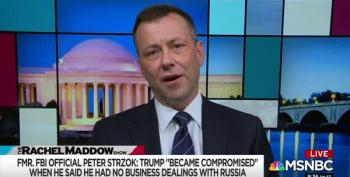 Maddow Interview: Former FBI Agent Peter Strzok Says Trump Is Compromised