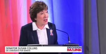 In Debate, Susan Collins Refuses To Say Who She'll Vote For President