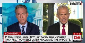 'You're Not Answering My Question!': Jake Tapper Shuts Down Peter Navarro's Lies
