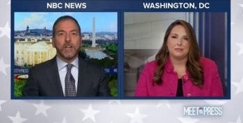 Chuck Todd Reminds Ronna McDaniel That Biden Is Not The President -- Trump Is