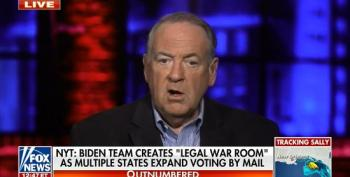 Huckabee Threatens Lawyers Who Want To Count Every Vote