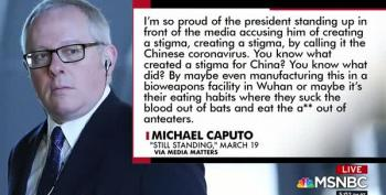 Chris Hayes Gives Us The Rundown On The Dangerous Conspiracies Pushed By Michael Caputo