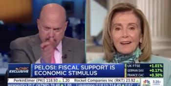 Jim Cramer Calls Pelosi 'Crazy Nancy' On-Air
