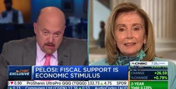 Cramer Calls Speaker Pelosi 'Crazy Nancy' On-Air