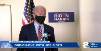 Joe Biden Isn't Worried About Trump: 'He's A Fool'