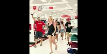 Florida Anti-Maskers Invade A Target Store To 'We're Not Going To Take It Any More!'