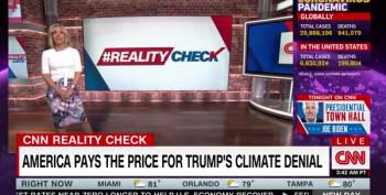 Trump Tells Us Not To Believe The Evidence On Climate Change